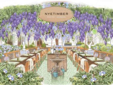 Il Rosewood London sta per svelare il giardino segreto di Nyetimber
